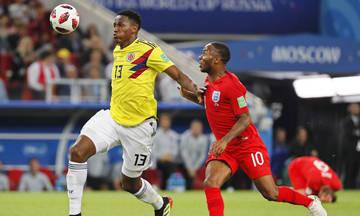Κολομβία-Αγγλία 1-1 (3-4 πεν): Tα λιοντάρια βρυχώνται...