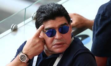 Τα... μαζεύει ο Μαραντόνα μετά τα όσα «έσυρε» στη FIFA