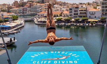 Agios Nikolaos Cliff Diving 2018