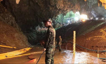Ταϊλάνδη: Έξι παιδιά έχουν απεγκλωβιστεί