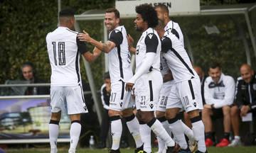 Φιλική νίκη του ΠΑΟΚ κόντρα στην Στεάουα με 2-1