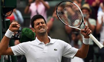 Στα προημιτελικά του Wimbledon ο Τζόκοβιτς