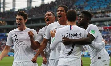 Το γκολ του Ουμτιτί για το 1-0 της Γαλλίας (vid)