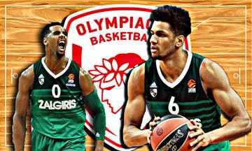 Ολυμπιακός: Επαφές με Ζαλγκίρις για Τουπάν και Ντέιβις