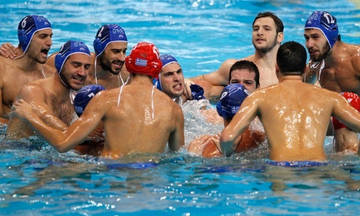 Η 13άδα της εθνικής ανδρών πόλο για το Ευρωπαϊκό