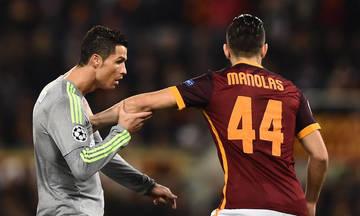 Μανωλάς: «Θα δούμε στο γήπεδο αν ο Ρονάλντο είναι πιο γρήγορος από εμένα»