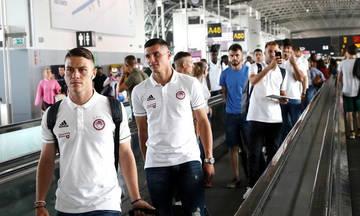 Έφτασε στο Βέλγιο ο Ολυμπιακός! (pics)