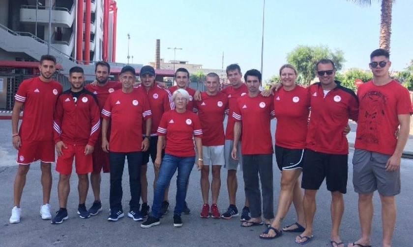 Η αποστολή του Ολυμπιακού για το Πανελλήνιο Πρωτάθλημα Ανοιχτού Στίβου