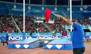 Απίστευτο ατύχημα για αθλητή του επί κοντώ (vid)