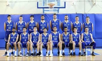 Πρεμιέρα για τη «γαλανόλευκη» στο Eurobasket U20