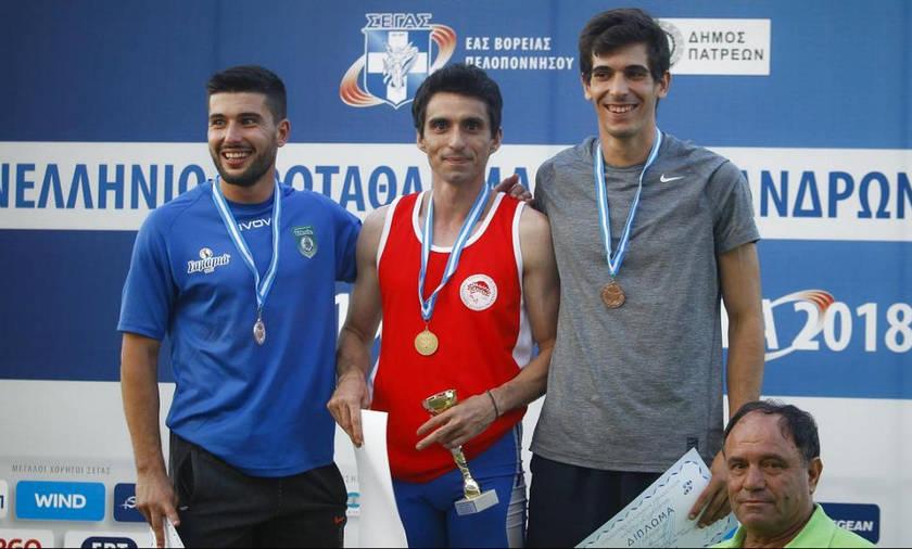 Πρωτοπόρος ο Ολυμπιακός στο Πανελλήνιο Πρωτάθλημα Ανοιχτού Στίβου