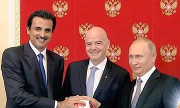 Η Ρωσία παρέδωσε τη... σκυτάλη στο Κατάρ!