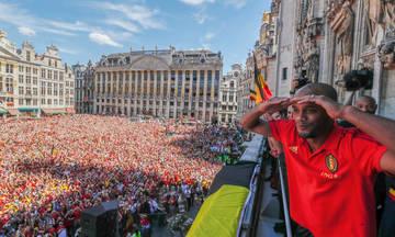 Έτσι υποδέχθηκαν οι Βέλγοι την εθνική τους (vid)