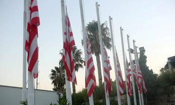 Μεσίστιες οι σημαίες στα γραφεία της ΠΑΕ (pics)
