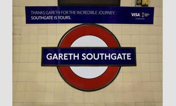 Ο Γκάρεθ Σαουθγκέιτ «έγινε» για 48 ώρες σταθμός του μετρό