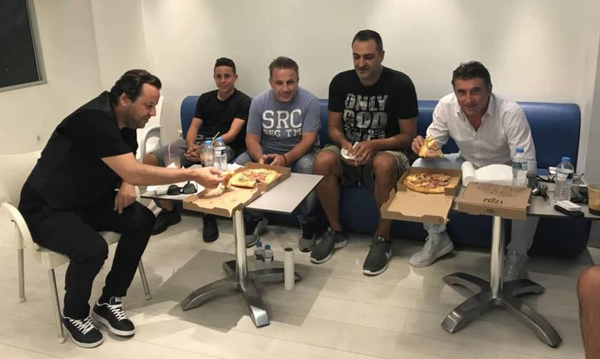 Ζαγοράκης και Γιαννούλης απόλαυσαν μαζί τον τελικό του Μουντιάλ!