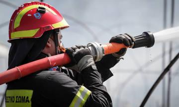 Σε τέσσερα «μέτωπα» οι πυρκαγιές στην Κρήτη