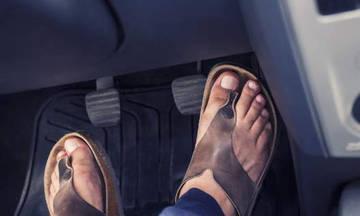 Αφαίρεση διπλώματος για όσους οδηγούν με σαγιονάρες