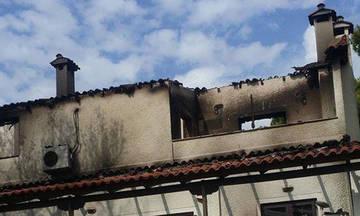 Κάηκε η οικία του Θανάση Μαργαρίτη στο Μάτι Αττικής (pic)