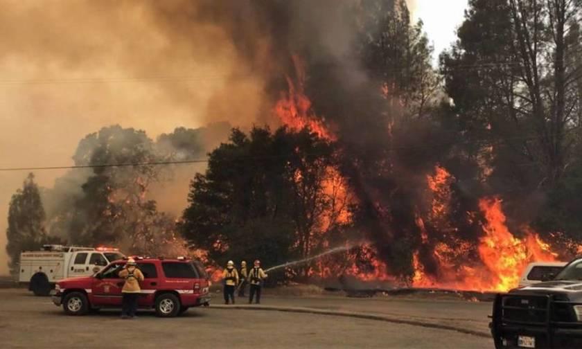 Καλιφόρνια: Πάνω από 3.000 άτομα εγκατέλειψαν τα σπίτια τους λόγω δασικών πυρκαγιών