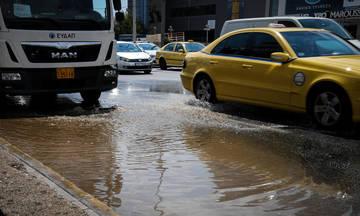 Ποιους δρόμους έκλεισε η Αστυνομία λόγω της νεροποντής