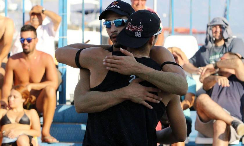 Πανελήνιο πρωτάθλημα beach volley: «Χάλκινοι» οι Δημητριάδης/Σακόγλου