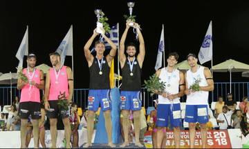 Πρωταθλητές Ελλάδος Άγγελος και Βασίλης Μανδηλάρης