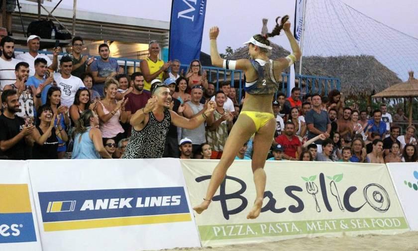 Τα highlights του Πανελλήνιου Πρωταθλήματος beach Volley στον Άγιο Νικόλαο