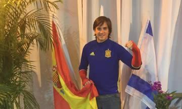 Ήταν χθες στο Καραϊσκάκη και ανακοίνωσε τη συμφωνία του με τον Ολυμπιακό (pic)