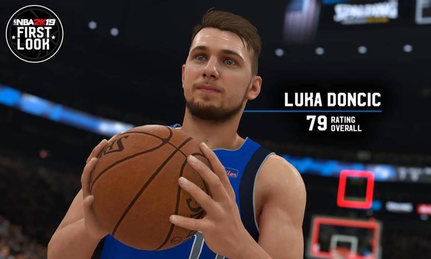 Έγινε γνωστό το rating του Ντόντσιτς στο NBA 2K19 (pic)
