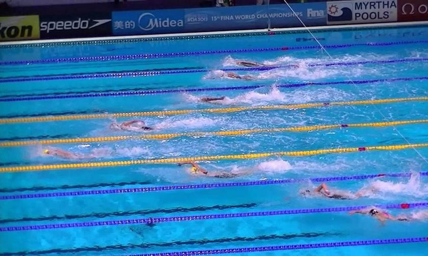 Ευρωπαϊκό Πρωτάθλημα Κολύμβησης: Στη 5η θέση η Ελλάδα στον τελικό 4x100