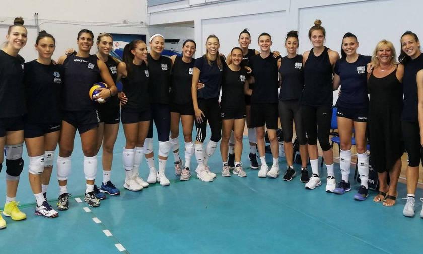 Με κορυφαία τη Βεργίδου η Εθνική γυναικών κέρδισε 3-2 τη Ρουμανία