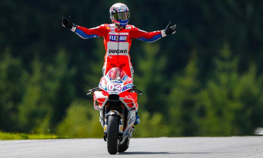 Νικητής ο Ντοβιτσιόζο, το 1-2 η Ducati