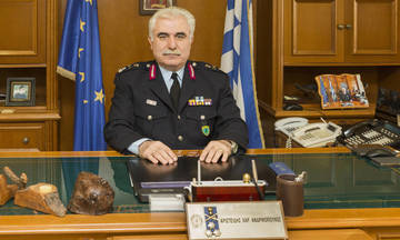 Αντικαταστάθηκαν οι αρχηγοί Πυροσβεστικής και Αστυνομίας