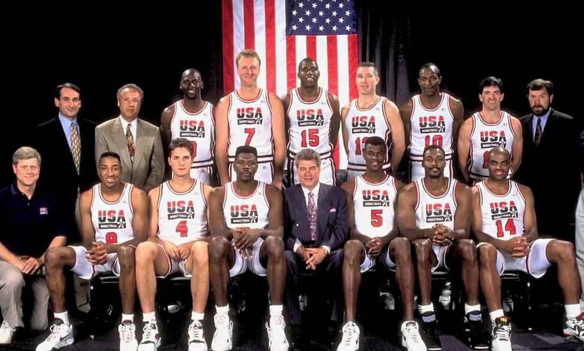 Το πρώτο μετάλλιο της «Dream Team»