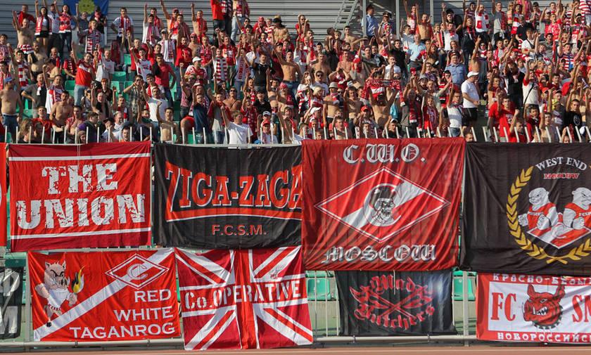 Στη Θεσσαλονίκη 200 οπαδοί της Σπαρτάκ