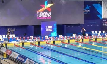 Ευρωπαϊκό Πρωτάθλημα Κολύμβησης: Οι ελληνικές συμμετοχές της 7ης ημέρας