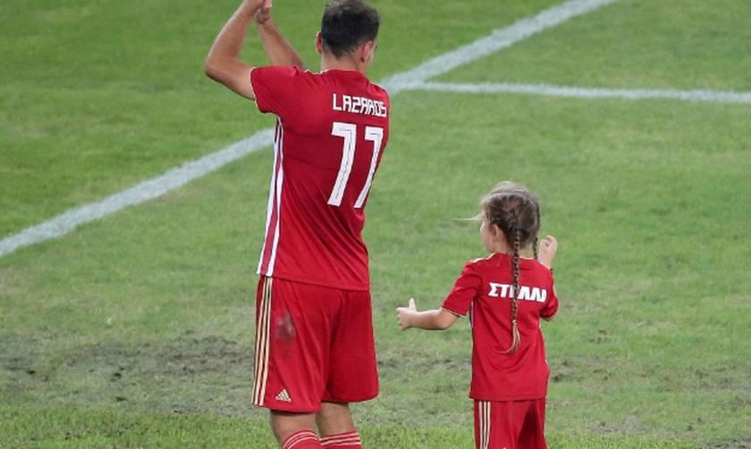 Ολυμπιακός για Λάζαρο-Στέλλα: «Όπως ο πατέρας, έτσι και η κόρη» (pic, vid)