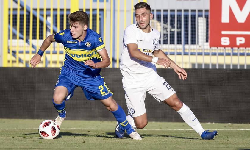 Ισόπαλοι 1-1 αναδείχθηκαν Αστέρας Τρίπολης-Ατρόμητος