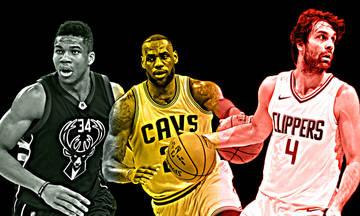 NBA: ΛεΜπρόν, Γιάννης και Τεόντοσιτς στις κορυφαίες ασίστ! (vid)