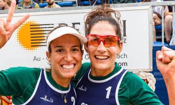 Beach volley: Μετάλλιο στο Λιχτενστάιν για τις Μανάβη και Τσοπούλου