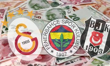 Η πτώση της τουρκικής λίρας επηρεάζει τα μεγάλα κλαμπ