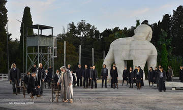 Οιδίπους επί Κολωνώ, σε σκηνοθεσία Γιάννη Κόκκου στο Αρχαίο Θέατρο Επιδαύρου