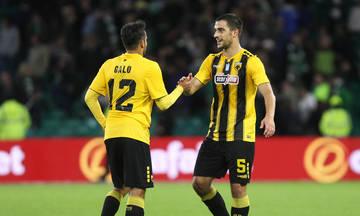 To 1-0 της ΑΕΚ απέναντι στη Σέλτικ με τον Γκάλο (vid)