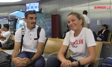 Το ταξίδι του Ολυμπιακού για την Ελβετία VIDEO