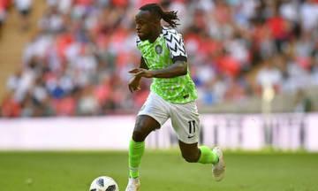Τέλος η Εθνική Νιγηρίας για τον Μόουζες