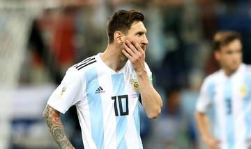 Ο Μέσι έθεσε εαυτόν εκτός της εθνικής Αργεντινής