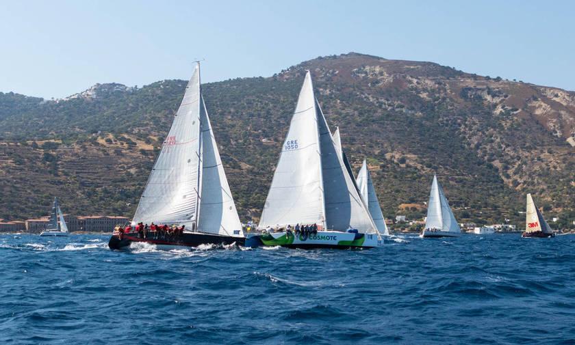 H Αegean Regatta επιβεβαιώνει τον διεθνή της χαρακτήρα