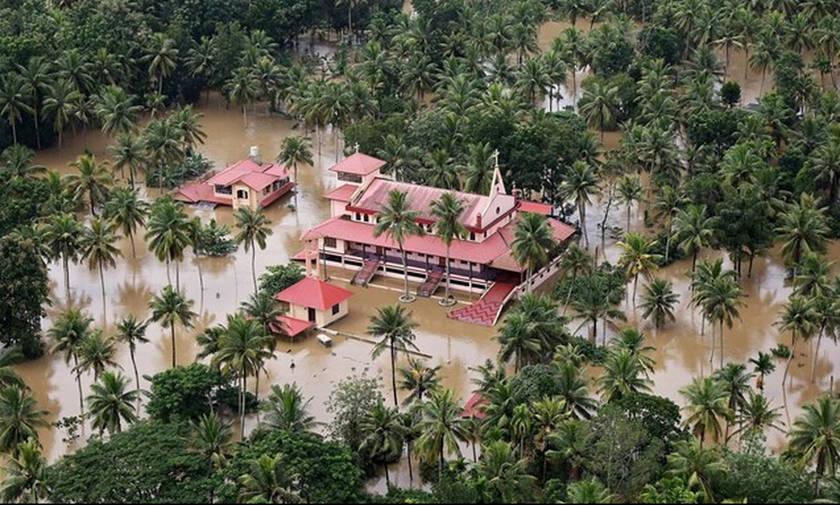 Iνδία: 324 οι νεκροί από τις πλημμύρες στην Κεράλα
