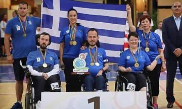 Χρυσό μετάλλιο για το ελληνικό μπότσια στο Παγκόσμιο Πρωτάθλημα